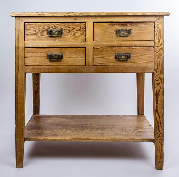 Mueble de oficio de pino de melis serie limitada - Mueble de pino ...
